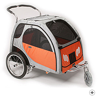Sport Wagon Large - pet carrier (shown with stroller kit) (ERSWL)